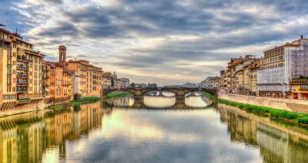 Florence Italy canal