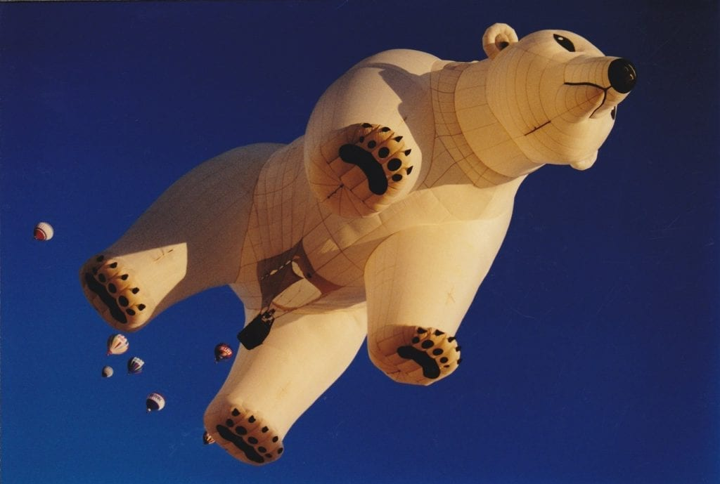 Albuquerque Balloon Fiesta Polar Bear Balloon