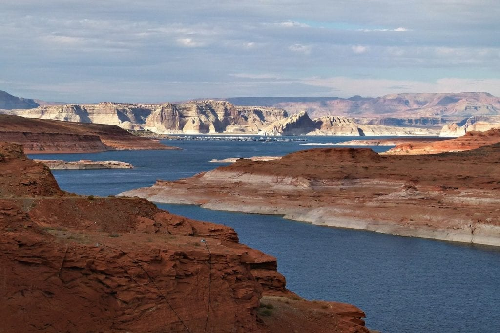 Lake Powell vista