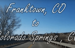 Franktown to Colorado Springs